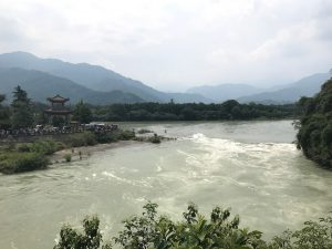 Huang Long Xi, a famous ancient town that has a river flowing through it.