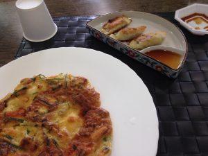 Ellie's meal in Korea