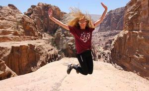Kate in Jordan