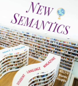 New Semantics: Student Language Magazine
