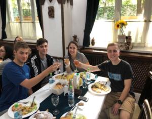 Dinner at the Institutul Muncii Hote