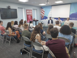 Foreign Service officers discuss their career paths