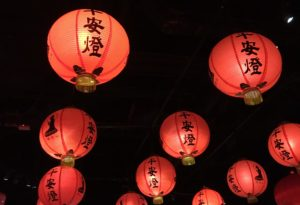 Traditional Paper Lanterns in Taiwan