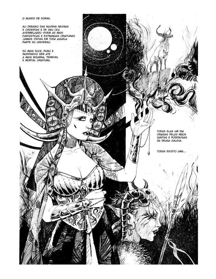 2 HQs - O mundo de Doran em Quadrinhos  + Pacoo  (e-book)