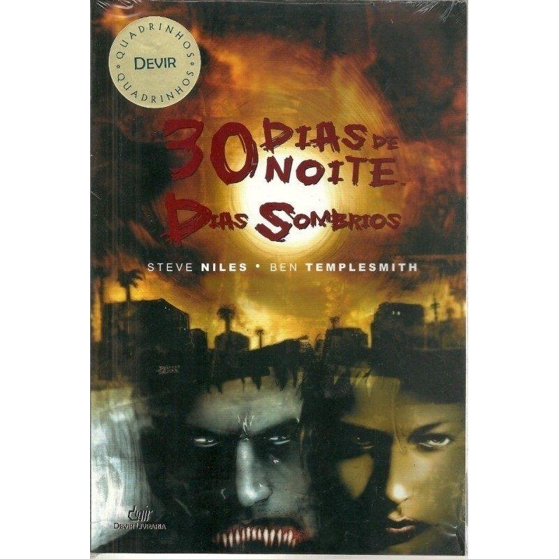 30 Dias de Noite - Dias Sombrios - HQ - Devir