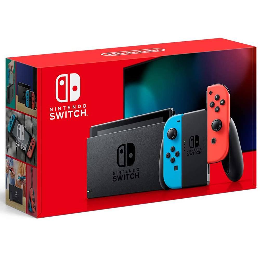 Console New Nintendo Switch 32GB com Joy-Con Azul/Vermelho