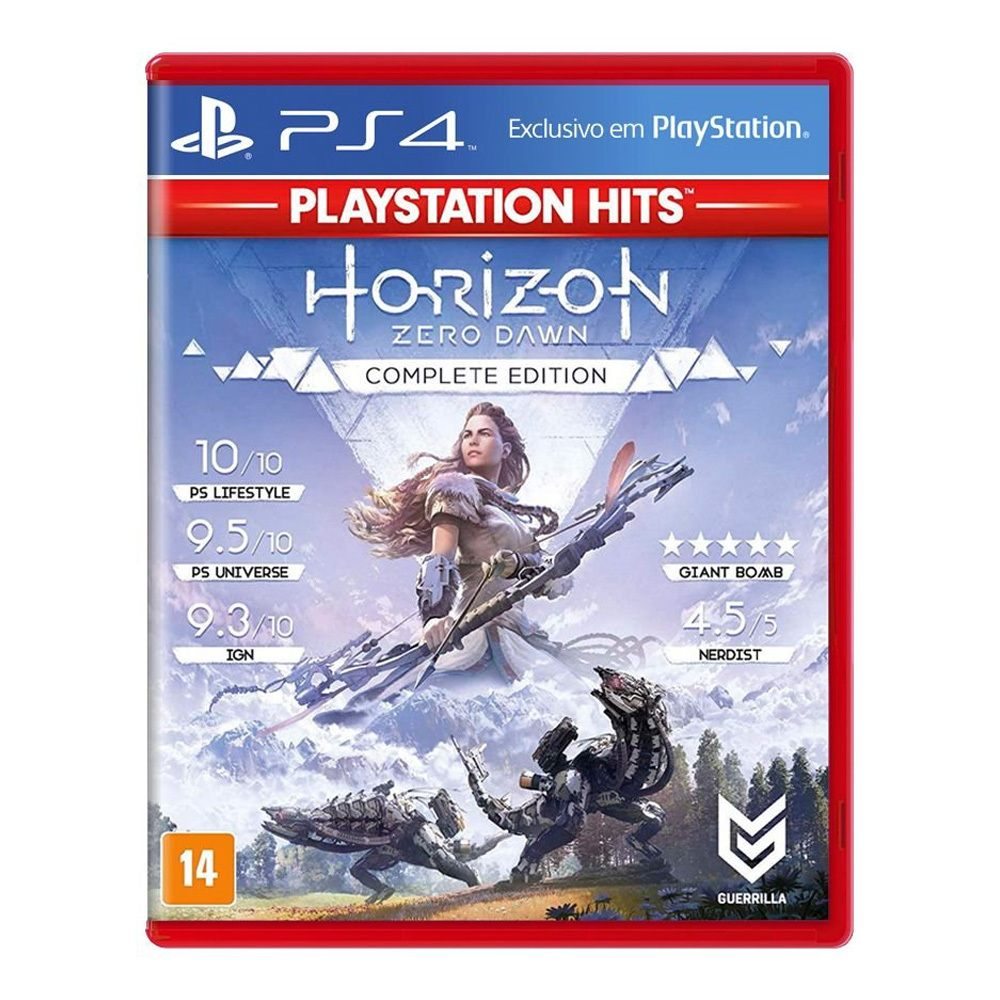 Jogo Horizon Zero Dawn (Complete Edition) - PS4 Hitz