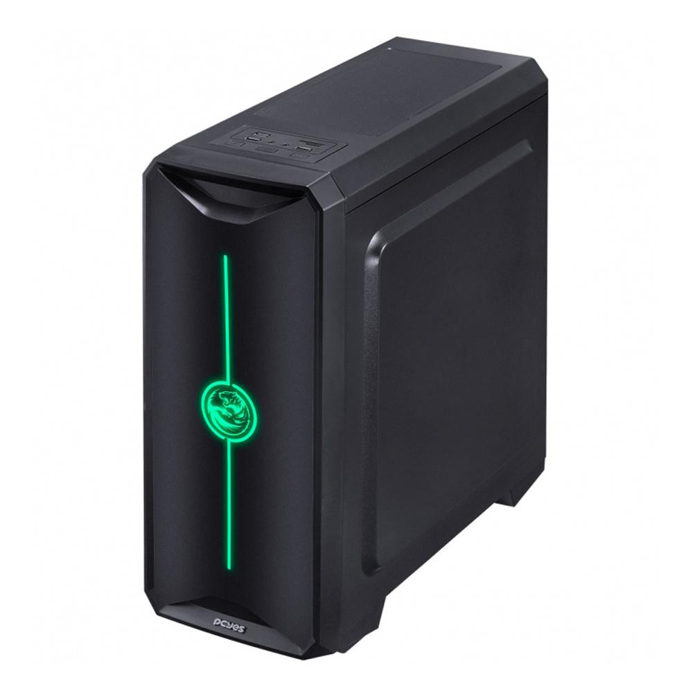 Computador PC Gamer TGS 5000 - Ryzen 5 2600, 3.4GHZ, Mem. 8GB DDR4, SSD 240GB, RX 570 4GB, FONTE 400W