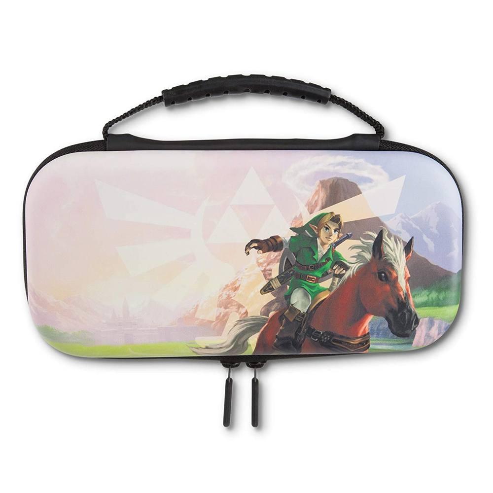 Kit de capa de proteção PowerA para Nintendo Switch Lite - The Legend of Zelda Hyrule Field