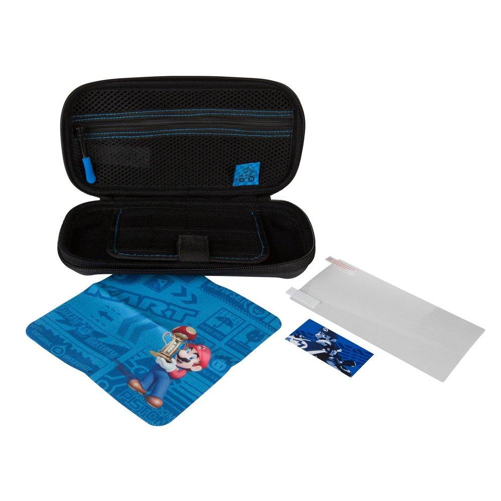 Kit de capa de proteção PowerA para Nintendo Switch Lite -Mario Kart azul