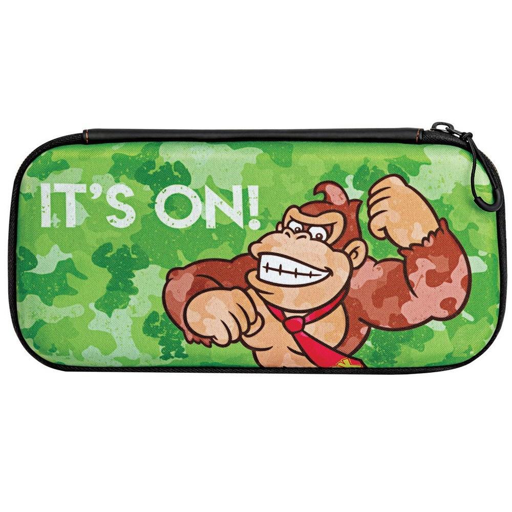 Case para Nintendo Switch Donkey Kong Camuflado Verde - PDP