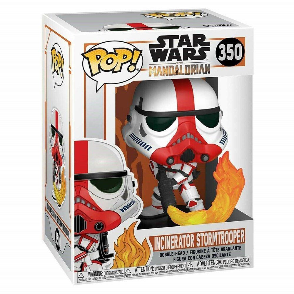 Funko Pop O Mandaloriano - Stromtrooper Incinerador 350