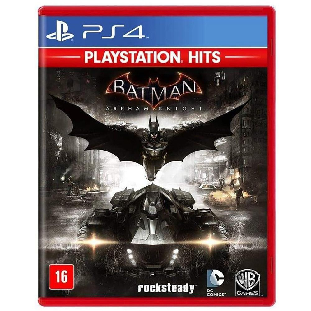 Jogo Batman Arkham Knight Playstation Hits - PS4