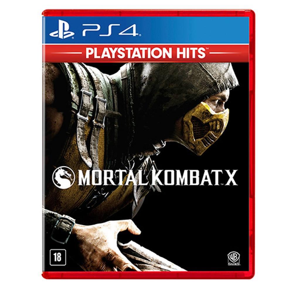 Jogo Mortal Kombat X Playstation Hits - PS4