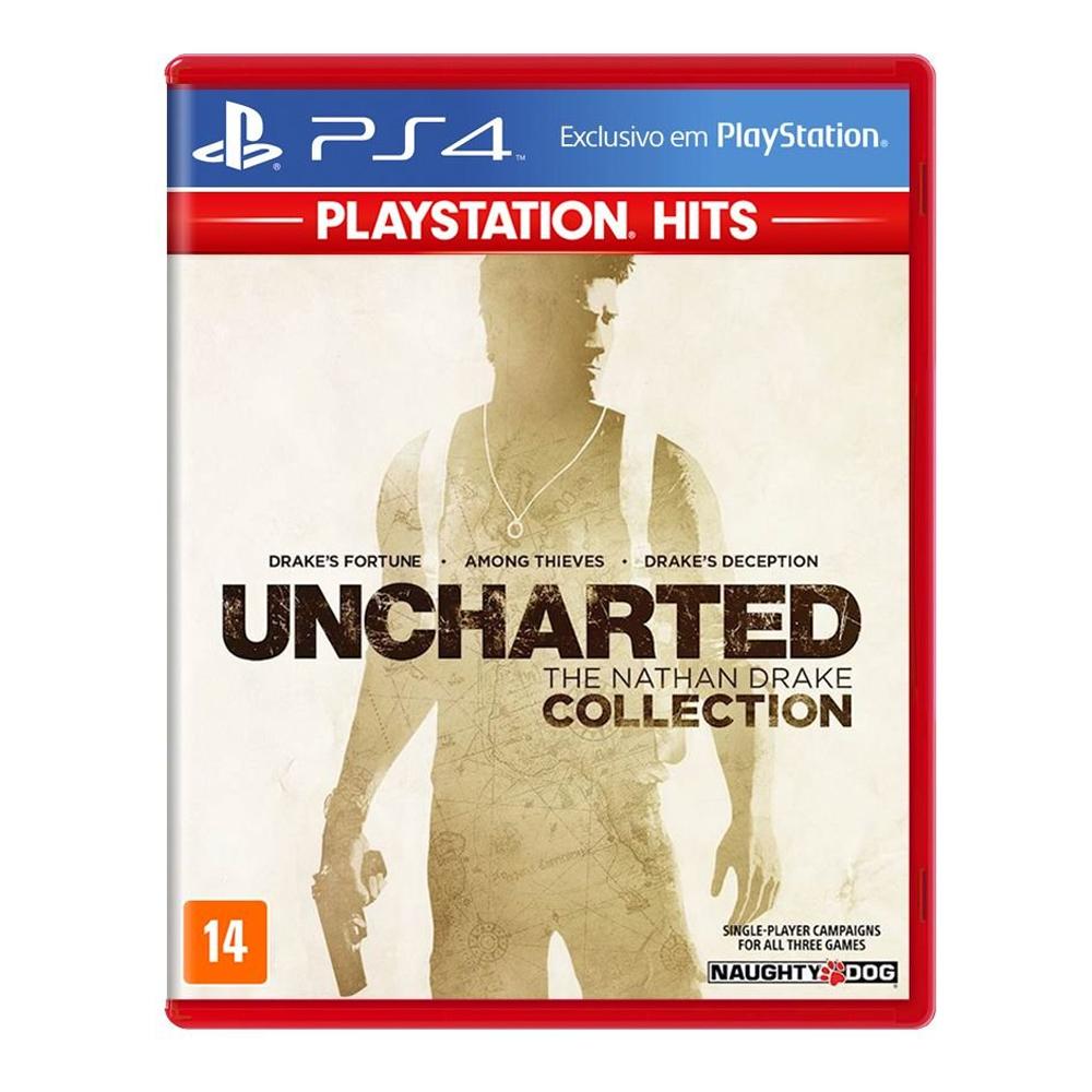 Jogo Uncharted: The Nathan Drake Collection - PS4 Hits
