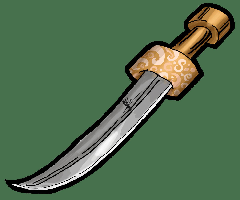 Adesivos Menmar - Adaga (Dagger)