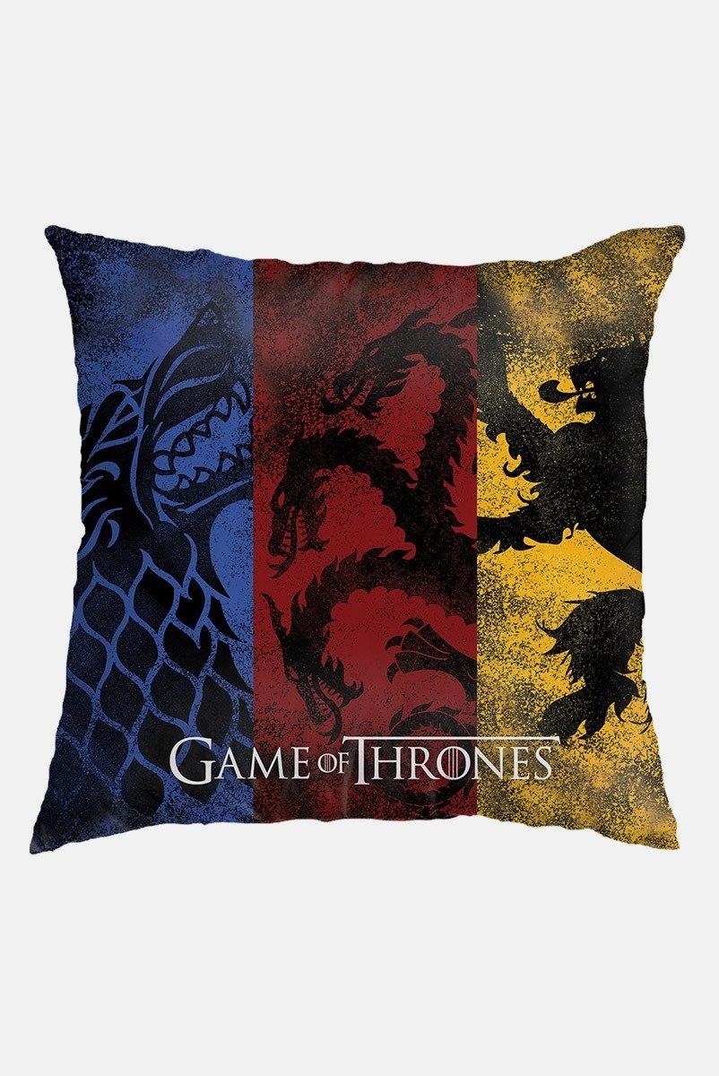 Almofada Game of Thrones Stark, Targaryen e Lannister