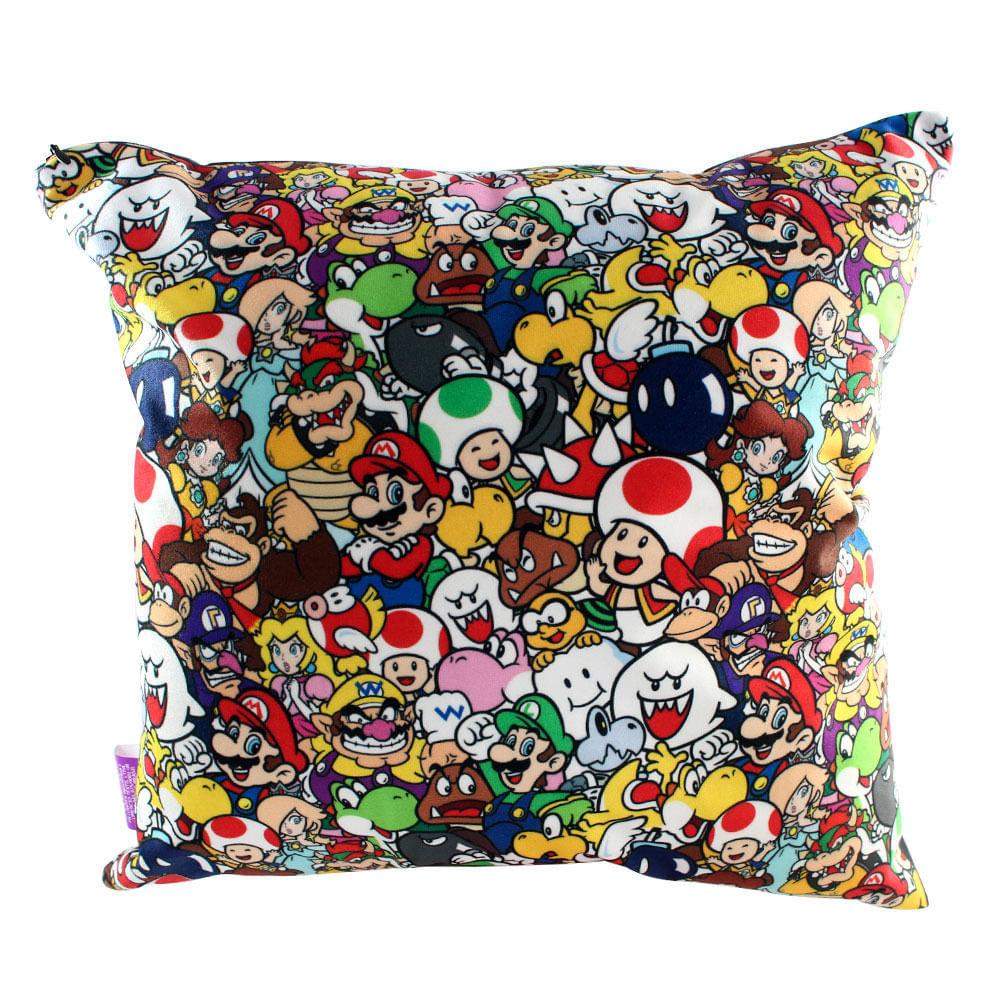 Almofada Personagens Mario World