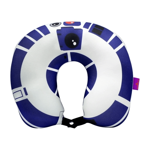 Almofada pescoço R2D2 com botão
