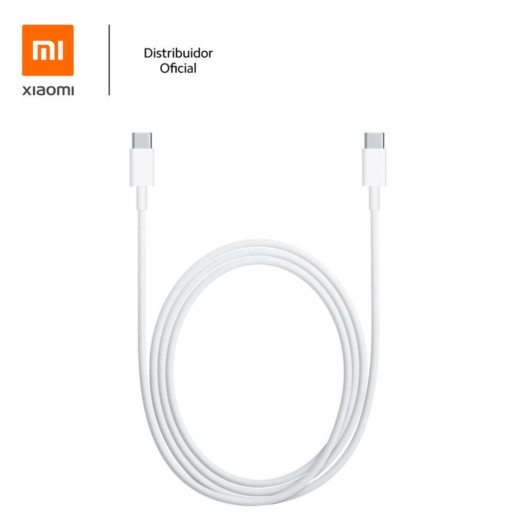 Cabo USB Tipo C para USB Tipo C 150cm Xiaomi