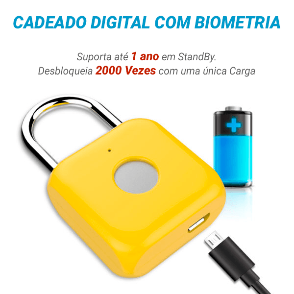 Cadeado Digital Inteligente