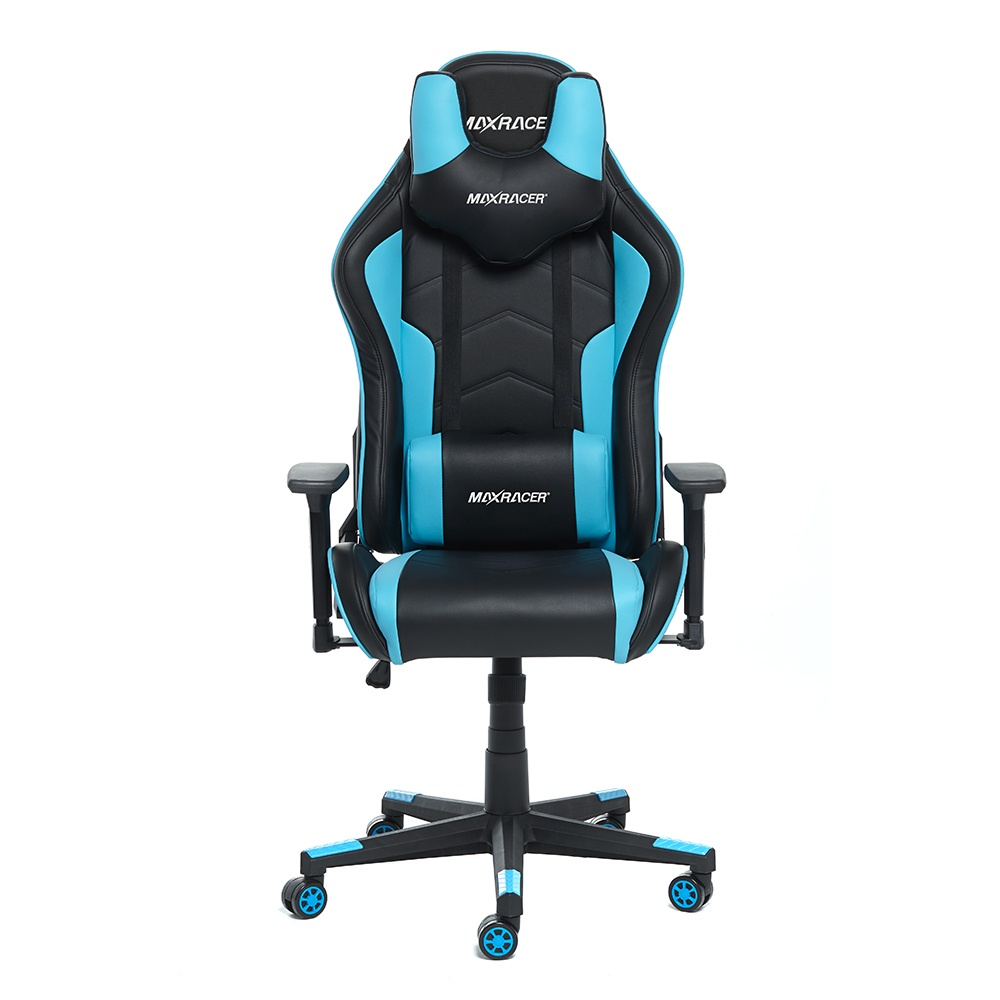 Cadeira Gamer MaxRacer Tactical Azul