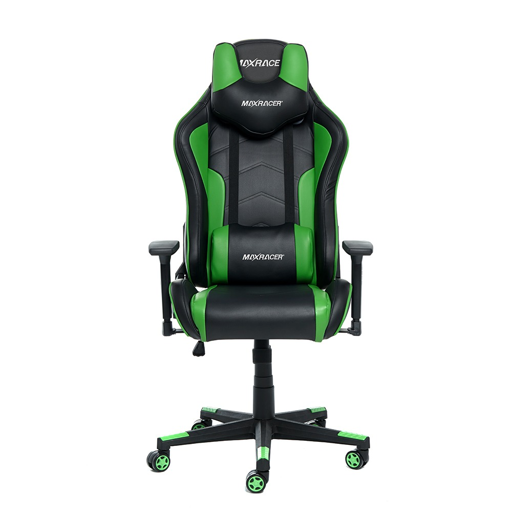 Cadeira Gamer MaxRacer Tactical Verde