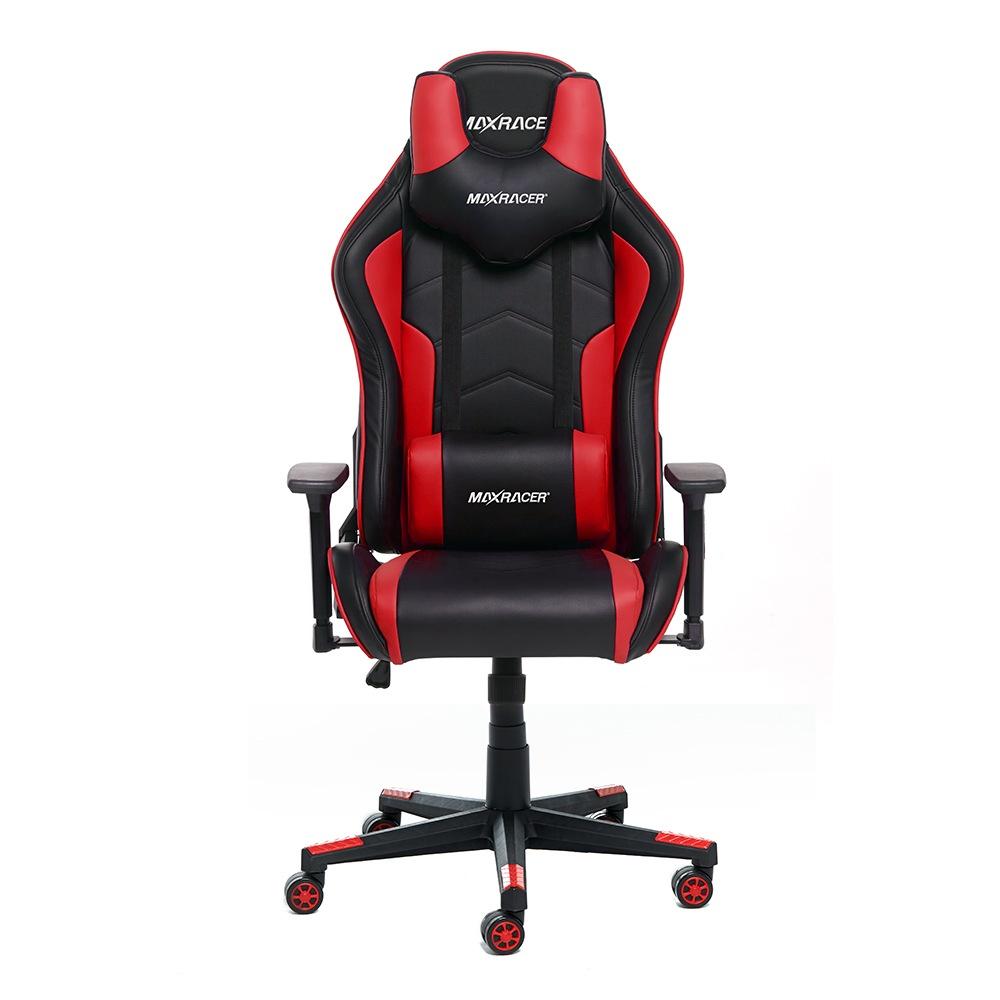 Cadeira Gamer MaxRacer Tactical Vermelha