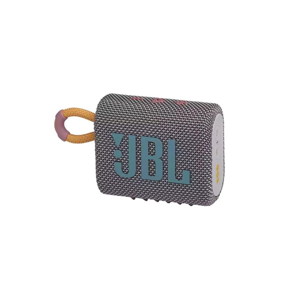 Caixa Bluetooth JBL GO3 Cinza