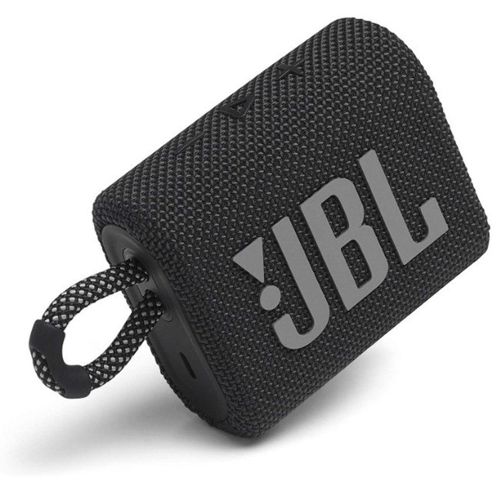 Caixa Bluetooth JBL GO3 Preto