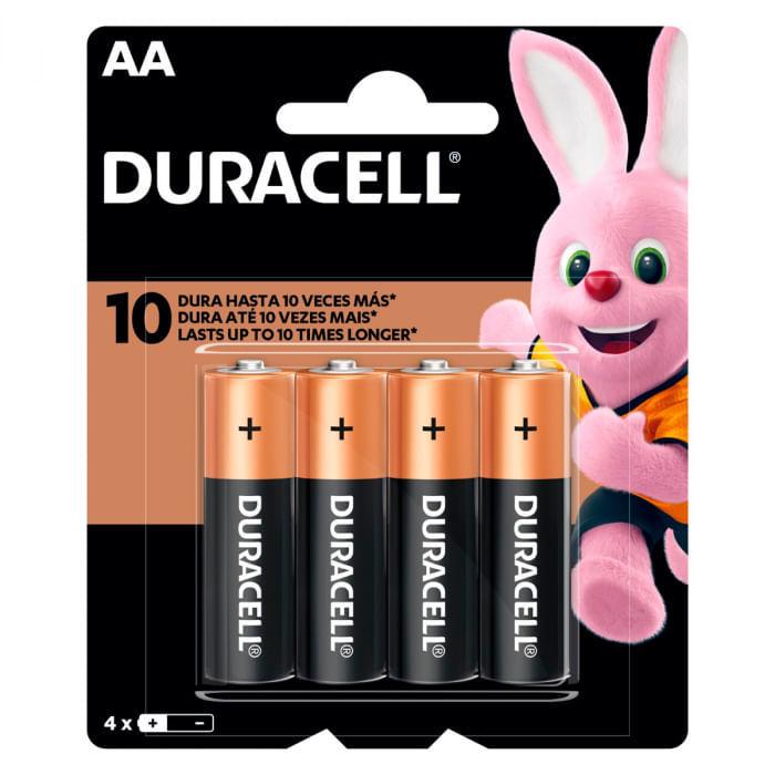 Caixa com Pilha Alcalina Duracell 1,5V AA com 12 Blisters com 4 Pilhas em Cada