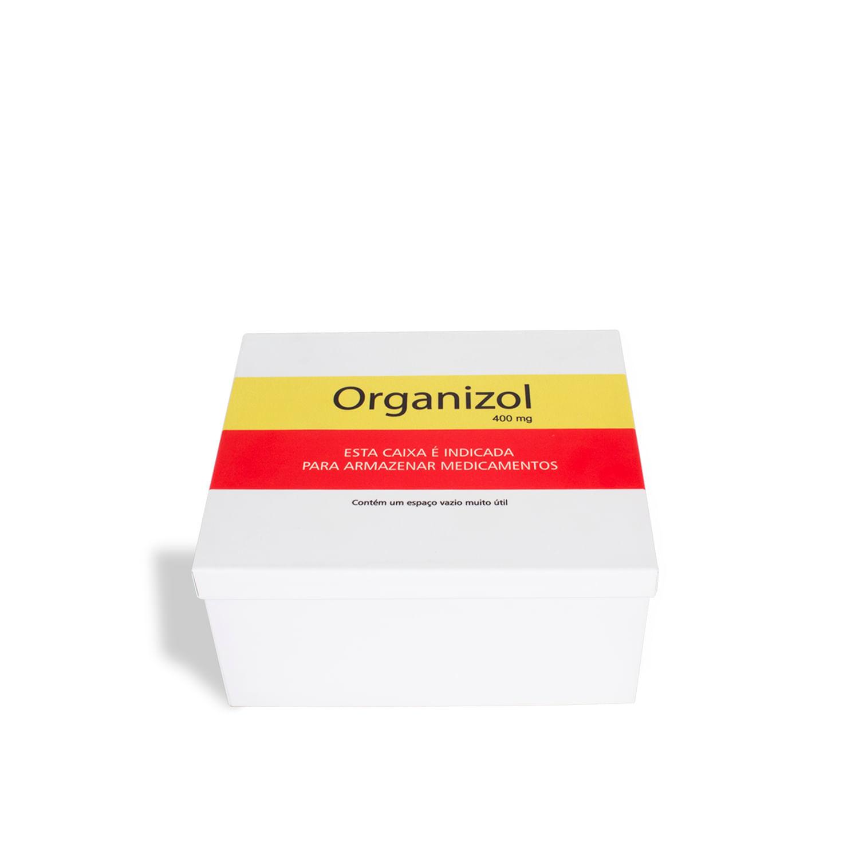 Caixa de remédios Organizol Aço Geguton