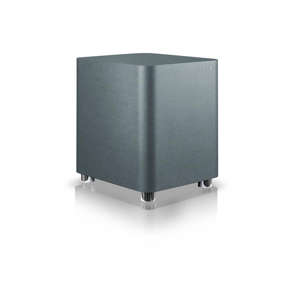 Caixa de Som  Soundbar + Subwoofer 320W Bt/Coax/Óptico/Aux Cinza Pulse - SP381