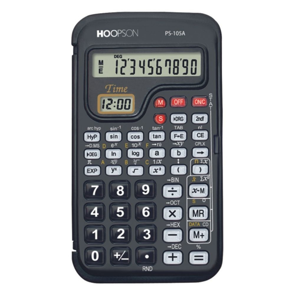 Calculadora Científica Eletrônica Hoopson PS-105A