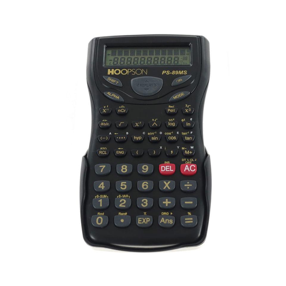 Calculadora Científica Eletrônica Hoopson PS-89MS