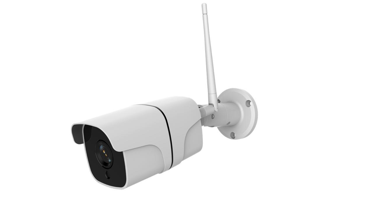 Câmera Externa C/Fio Inteligente