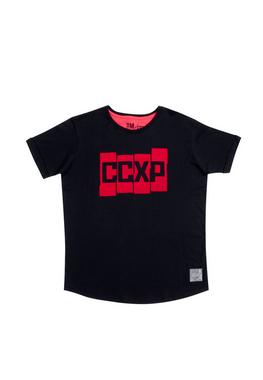 Camiseta CCXP Blocks Preta