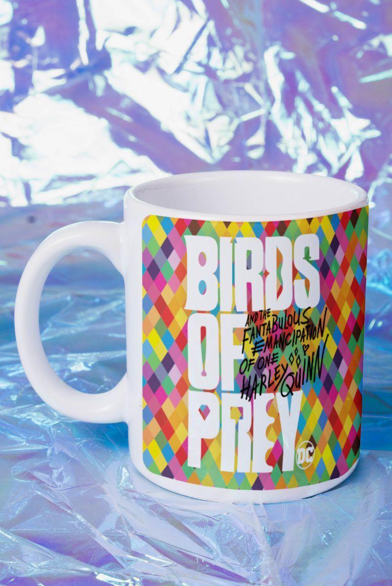 Caneca Birds of Prey Logo - Aves de Rapina