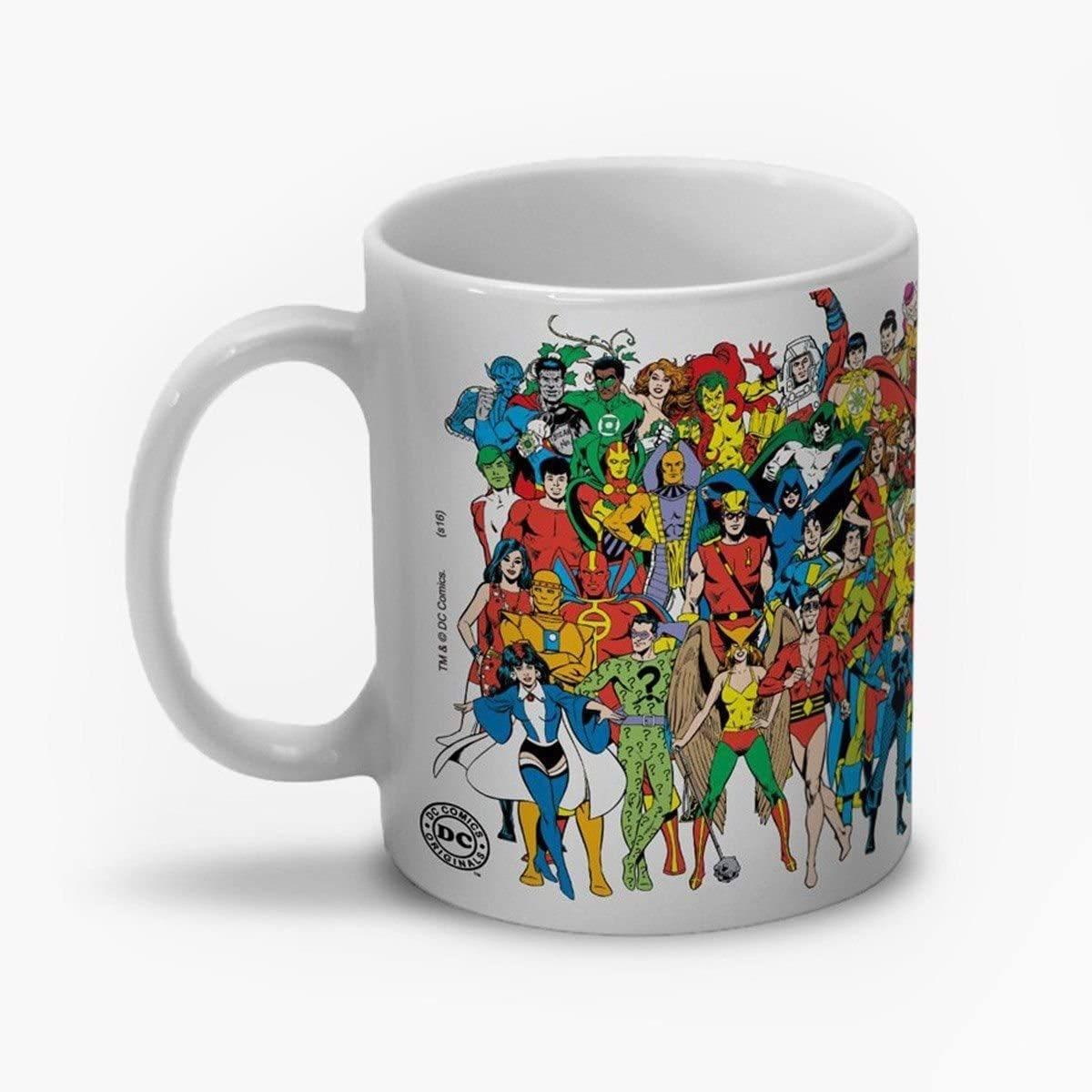 Caneca Super-Heróis DC Comics Originals