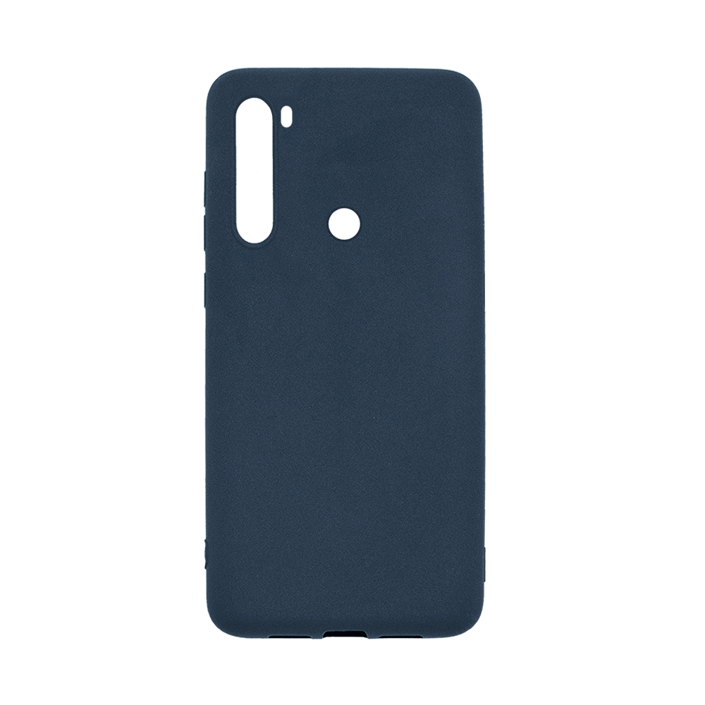 Capa de Silicone Azul para Smartphone Xiaomi Redmi Note 8