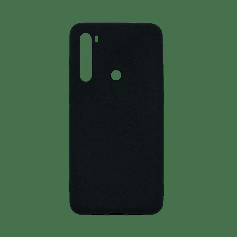 Capa de Silicone Preto para Smartphone Xiaomi Redmi Note 8