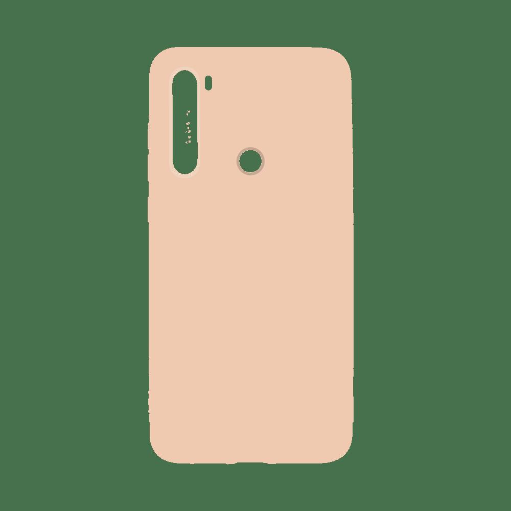 Capa de Silicone rosa para Smartphone Xiaomi Redmi Note 8
