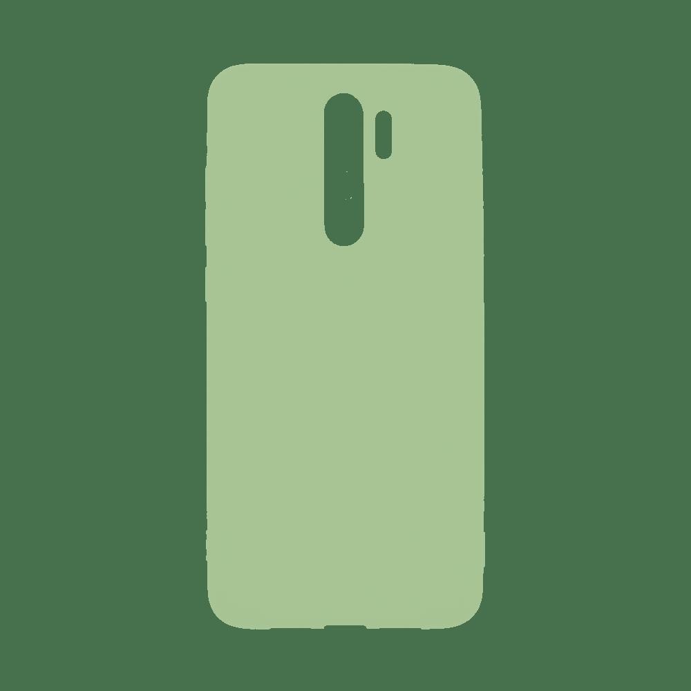 Capa de Silicone Verde para Smartphone Xiaomi Redmi Note 8 Pro