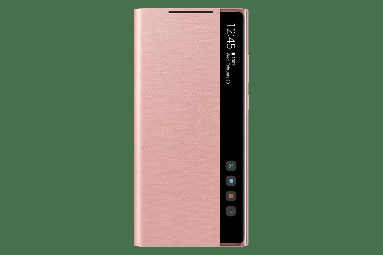 Capa protetora Galaxy Note20 Smart Clear View