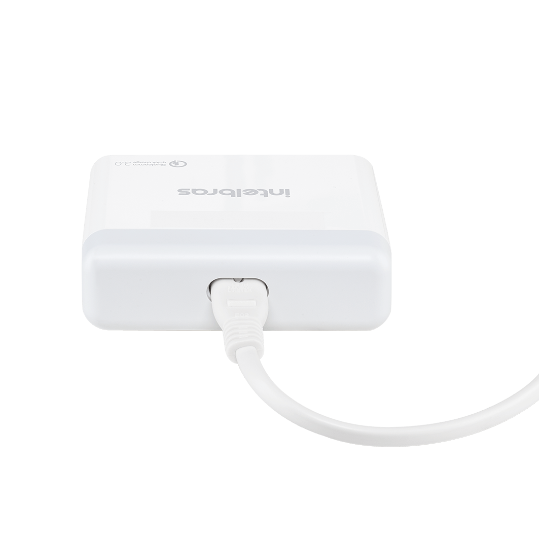 Carregador USB com 4 saídas Intelbras EC 4 Quick