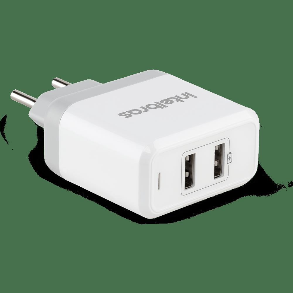 Carregador USB  Intelbras EC 2 FAST branco