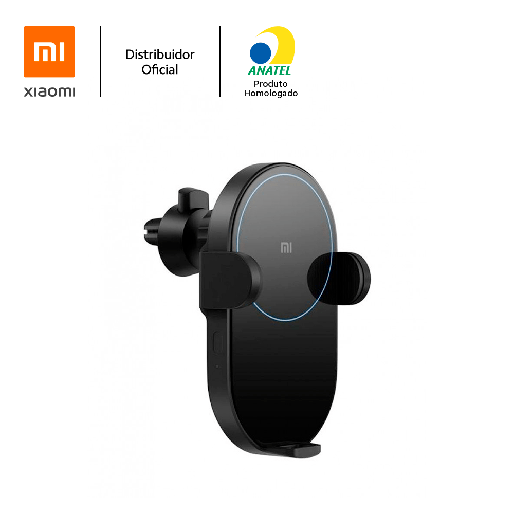 Carregador veicular sem fio 20W Mi Wireless Car Charger Xiaomi