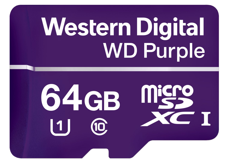 Cartão Micro SD 64GB 32TBW Intelbras