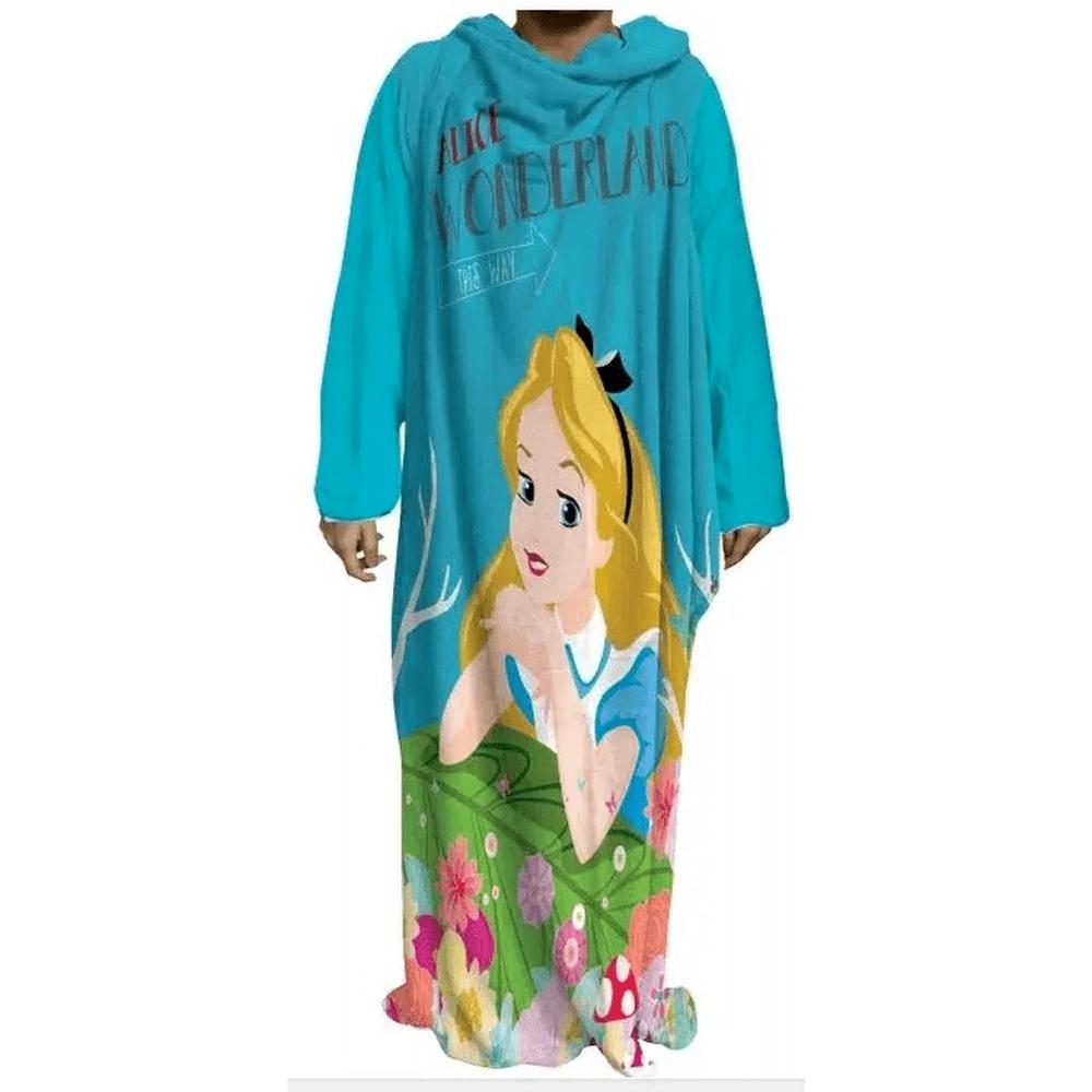 Cobertor com mangas Alice caminho 1,60X1,30M