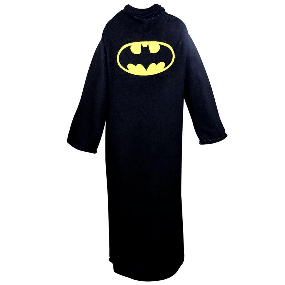 Cobertor com mangas Batman 1,60X1,30M
